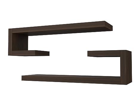 Legno Bianco Frassinato : Ve italy mensola composizione doppial cm in legno arredo