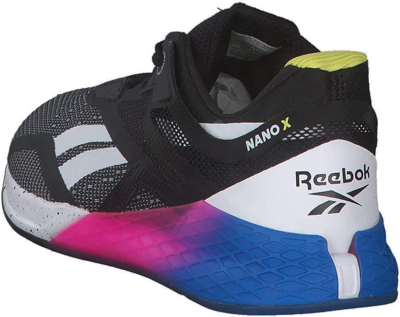 Reebok Women's Nano X Fitness Shoes Black Horblu Proudp