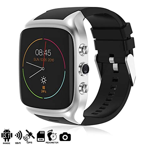 Dam Tekkiwear - Smartwatch (Dual Core, Android 5.1 , cámara ...