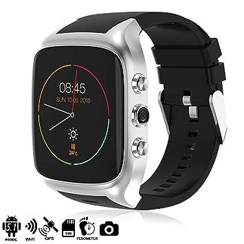 TEKKIWEAR. DMZ011SLV. Smartwatch Phone Ak-X02S Dual Core con ...
