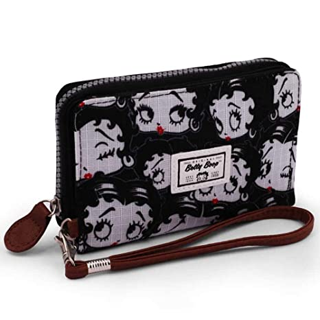 Karactermania 36554 Betty Boop Noir Monederos, 11 cm, Negro ...