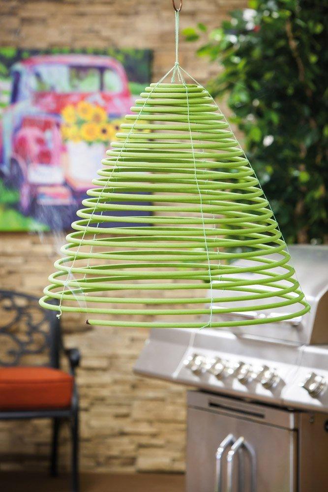 Evergreen Blooms Citronella Spiral Incense and Bug Deterrant, Set of 4