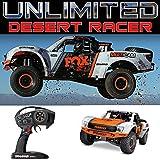 Traxxas Unlimited Desert Racer Rc Race Truck - Orange