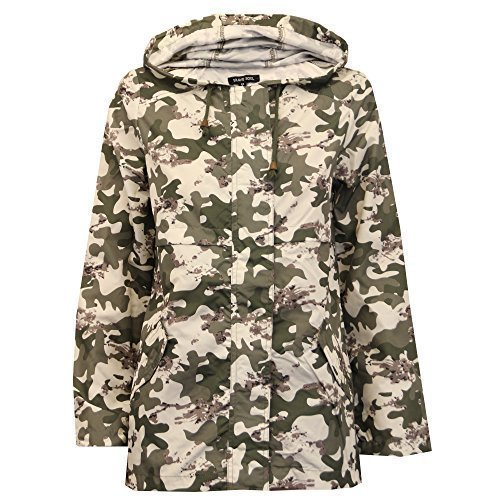 Ladie's Brave Soul Jacket MONY Khaki UK 12/US - Monies Online