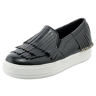 Plateau ShoesSchuhe Damen Taoffen Ohne Verschluss CBrdxoe