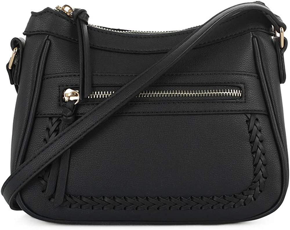 EMPERIA Elva Vegan Leather Crossbody Bag Purse for Woman