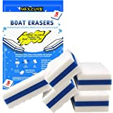 MAXZONE Boat Scuff Eraser 5 Pack - Magic Boating Accessories for Cleaning Black Streak Deck Marks and More - Marine…
