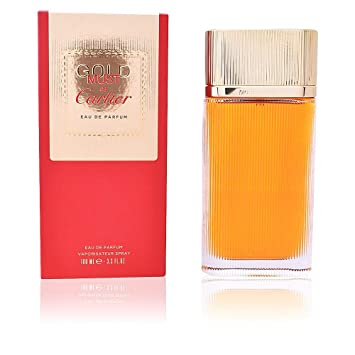 Eau By Cartier Women De 3 Oz Parfum Spray Gold 3 Must For UMGqzVpLS