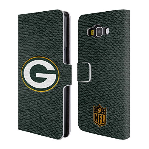 Official NFL Football Green Bay Packers Logo Leather Book Wallet Case Cover For Samsung Galaxy A5 from Head Case Designs