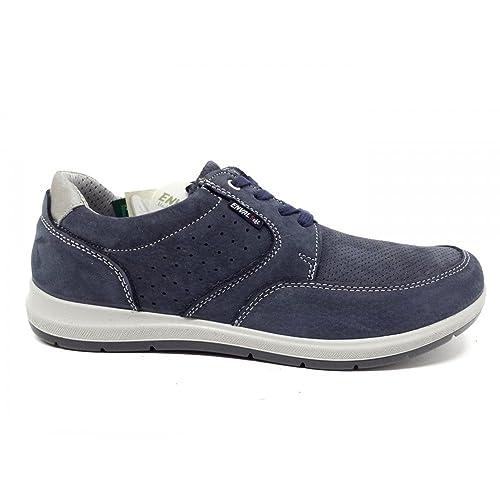 Sneakers Estate blu per uomo Enval Ubicaciones De Los Centros Económicos FNaz0G