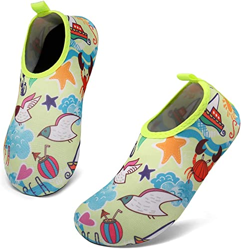 Kids Water Shoes Girls Boys Toddler Quick Dry Anti Slip Aqua Socks for Beach