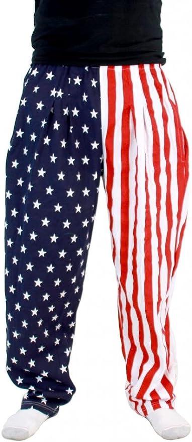 American Flag Adult Lounge Pants TOOLOUD Patriotic Bald Eagle