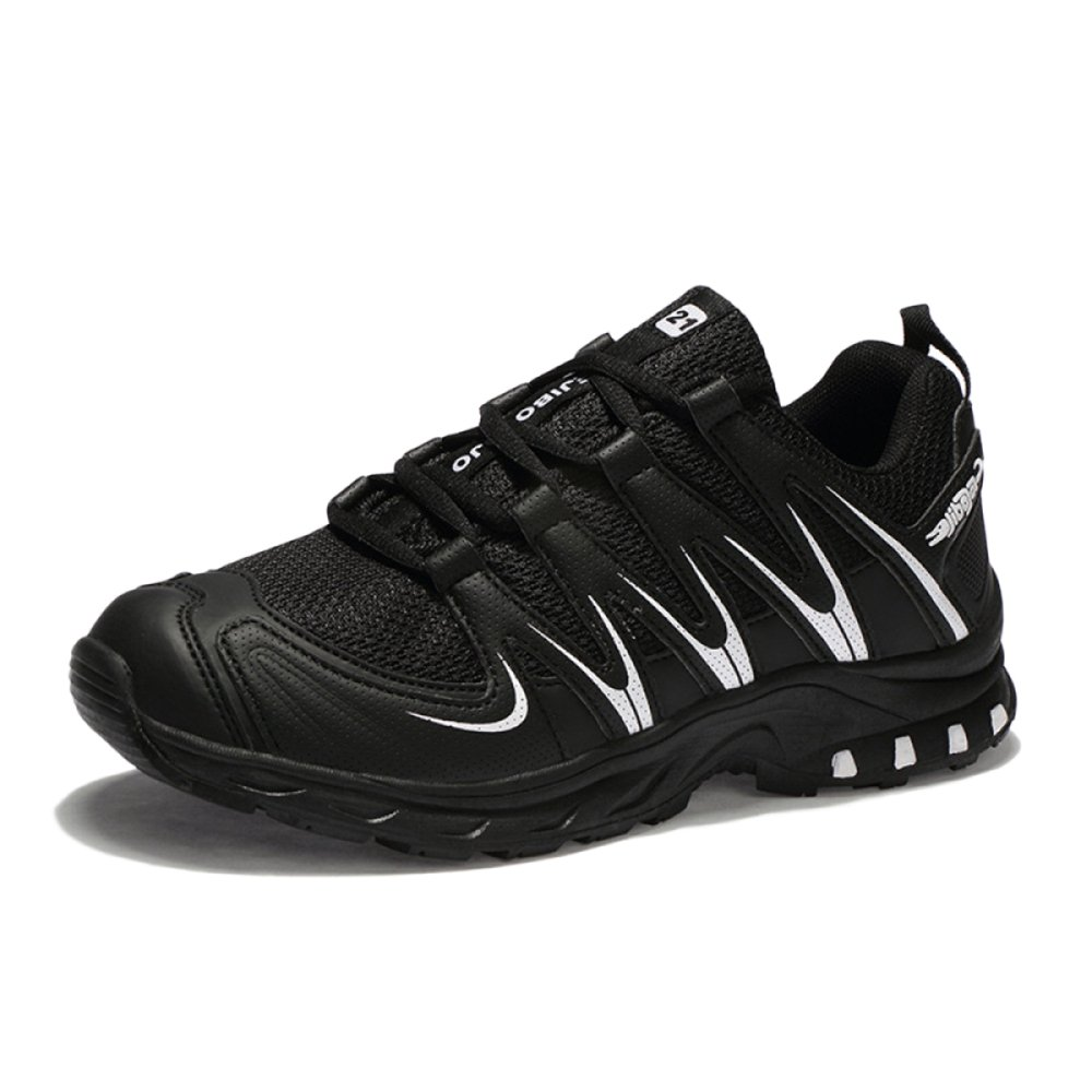 Mens and Womens Cross-Country Running Shoes Fitness Hiking Shoes Low Waist Outdoor Lightweight Breathable Hiking Shoes