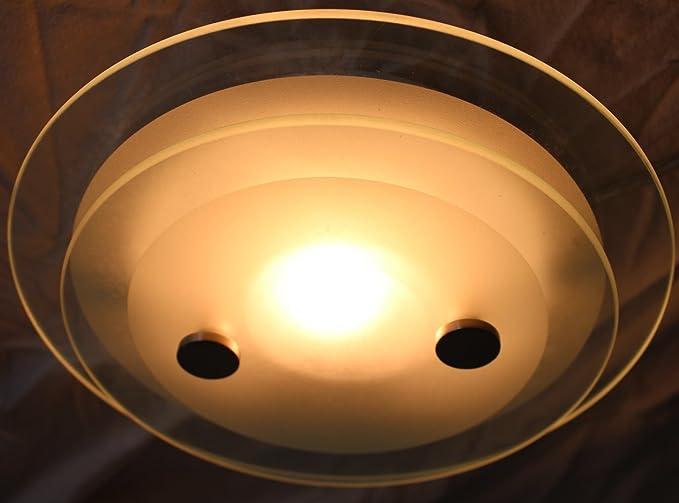 Plafoniere Vetro Satinato : Plafoniere vetro satinato d cm arredamento e casalinghi in