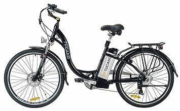TUCANO Estilo - Bicicleta eléctrica deportiva (Motor 250W - 36V) - Color blanco,