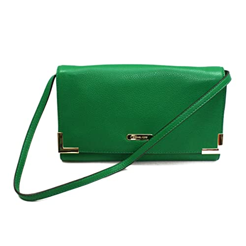 53ff4437ed84 Michael Kors Beverly Genuine Leather Oversized Clutch/ Shoulder Bag  Gooseberry (Green) #38S3XBVC3L: Amazon.ca: Shoes & Handbags