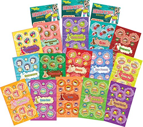 Just For Laughs Dr. Stinky's Scratch N Sniff Stickers 15-Pack 405 Stickers (Series -