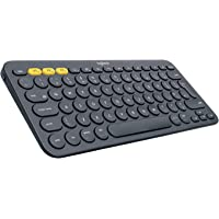 Logitech Multi-Device Bluetooth Keyboard K380, Dark Grey