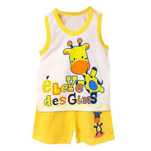5daa6cdb0537 Amazon.com  SODIAL(R) Baby Kids Clothes Set