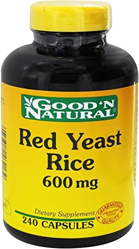 Good N Natural – Red Yeast Rice 600 mg – 240 Capsule