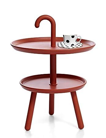 Amazon De Suhu Couchtisch Klein Tisch Rund Gartentisch Kunststoff