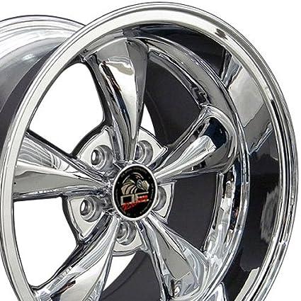 Amazon Com 17x10 5 17x9 Wheels Fit Ford Mustang Bullitt Style