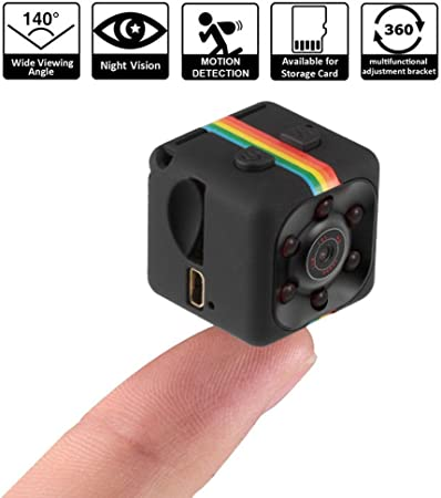 Pawaca 1080P Mini Camera HD Camcorder Spy Camera Nanny Web Cam ...
