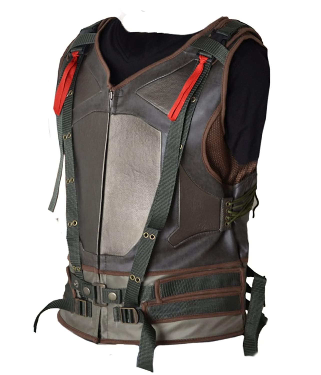HLS Hardy Tactical Bane Military Vest Faux Leather V2 XXS-5XL Tom's Green:  Amazon.co.uk: Clothing