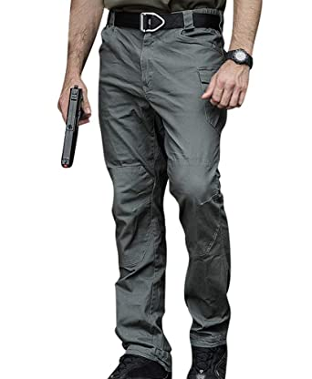 Crystallly Pantalones De Combate Algodón Para Hombres Pantalones ...