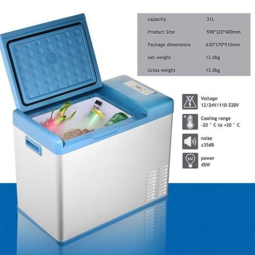 XBXDM Compresor Portátil Congelador Frigorífico Doble Voltaje ...