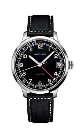 8123ba61a Image Unavailable. Image not available for. Color: Longines Heritage  Military 1938 Automatic Men's Watch ...