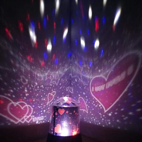 yenjos proyector de estrellas nachtlicht infantil – Proyector LED ...
