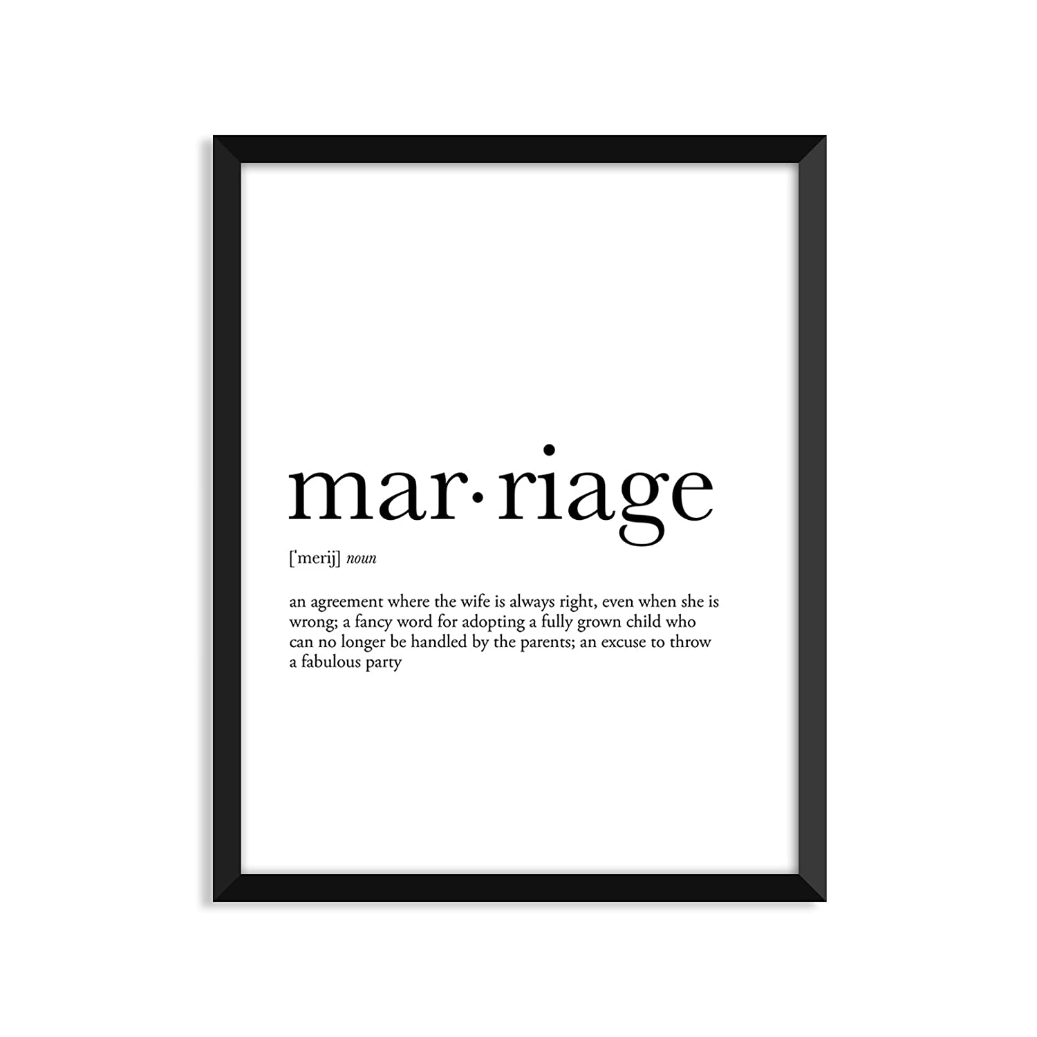 Amazon Marriage Definition Unframed Art Print Poster Or