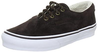 Vans Era Trainers Unisex-Adult Brown Braun ((Pig Suede Fleece) brown ... a9d634c07