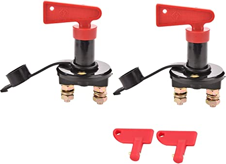 12V-24V Battery Isolator Disconnect Cut Off Power Switch for Car BOAT