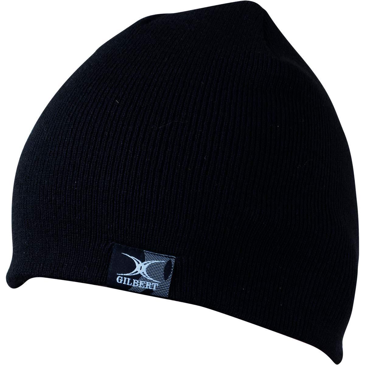 6ddf45111 Gilbert BEANIE HAT - BLACK: Amazon.co.uk: Sports & Outdoors