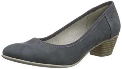 s.Oliver Damen 22301 Pumps, Blau (Denim), 42 EU