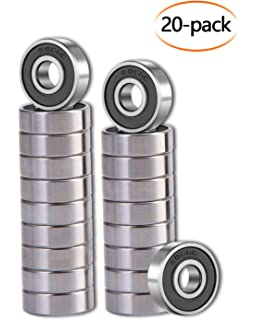 Amazon.com: Sackorange - Rodamientos para monopatín (608 ZZ ...