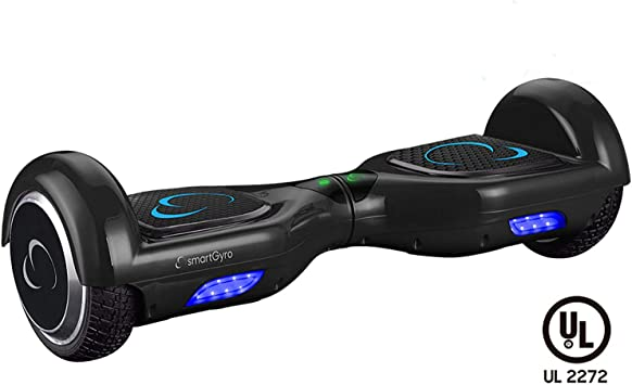 SMARTGYRO X2 Patinete Eléctrico Hoverboard, Antipinchazos, Batería ...