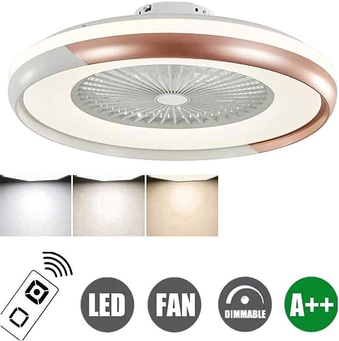 Luces De Techo Con Iluminación Creativa Ventilador Invisible ...