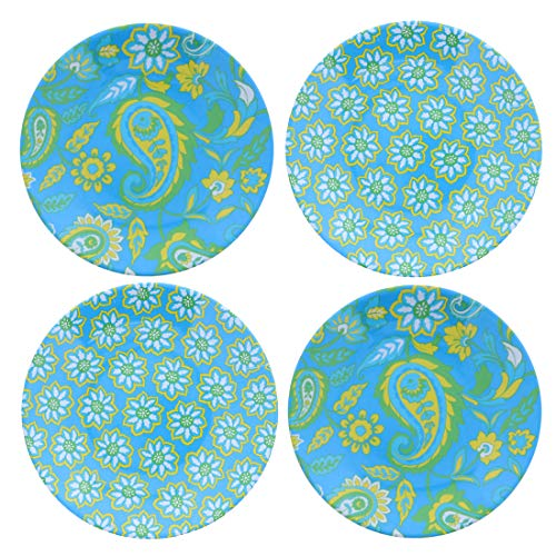 6 Inch Dessert Plates Butter and Bread Plates - Set of 4 - Multi 6 Inch Bread And Butter Plates