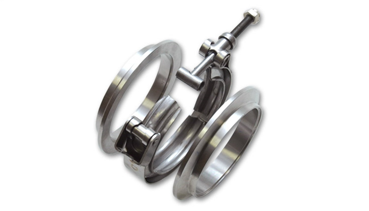 Vibrant 1496 Stainless Steel V-Band Flange Assembly for 2.75'' O.D. Tubing by Vibrant Performance (Image #1)