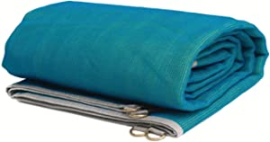 CGEAR The Original Sand-Free Outdoor Camping Mat – Patented Technology, Water-Resistant and Anti-Fade Material, Military-Grade Construction – Multi Use Outdoor Blanket