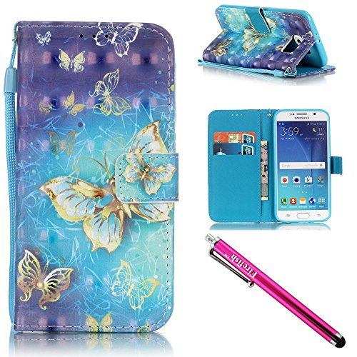 Iface Port (Galaxy S6 Case, Galaxy S6 Wallet Case, Firefish Stand Flip Folio Wallet Cover Shock Resistance Protective Shell with Cards Slots Magnetic Closure for Samsung Galaxy)