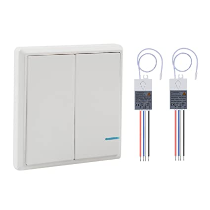 Stupendous Wsdcam Wireless Light Switch And Receiver Kit Outdoor 1900 Ft Wiring Database Heeveyuccorg