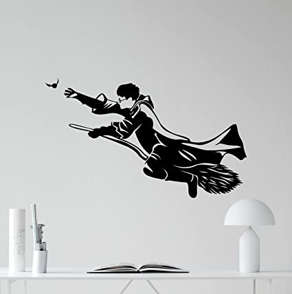 Amazon Com Harry Potter Wall Decal Hp Movie Vinyl Sticker Cartoons