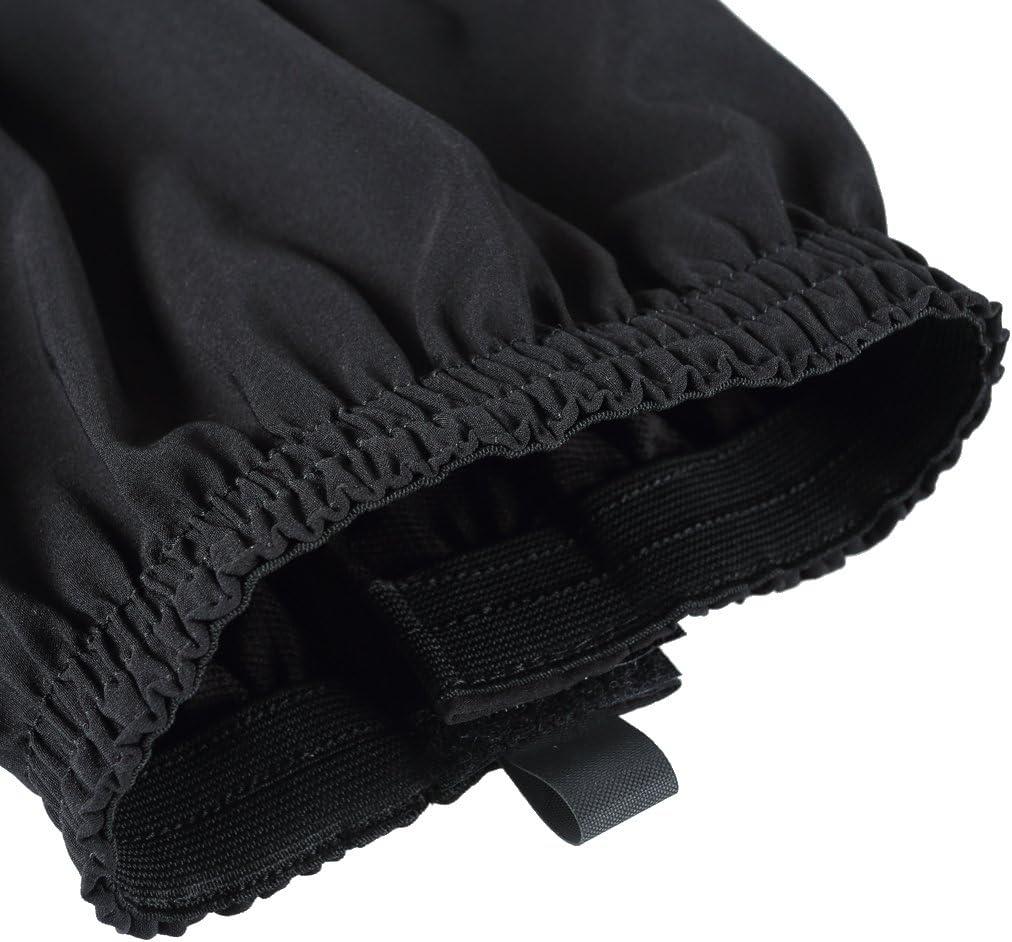 Noir Gazechimp 1 Paire Gu/être de Randonn/ée /Étanche Respirant Confortable Jambi/ères Deau Camping Escalade