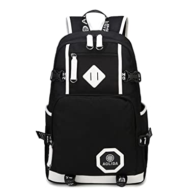 Amazon.com   Linbag Popular Heavy Duty Teens High School Backpack ...