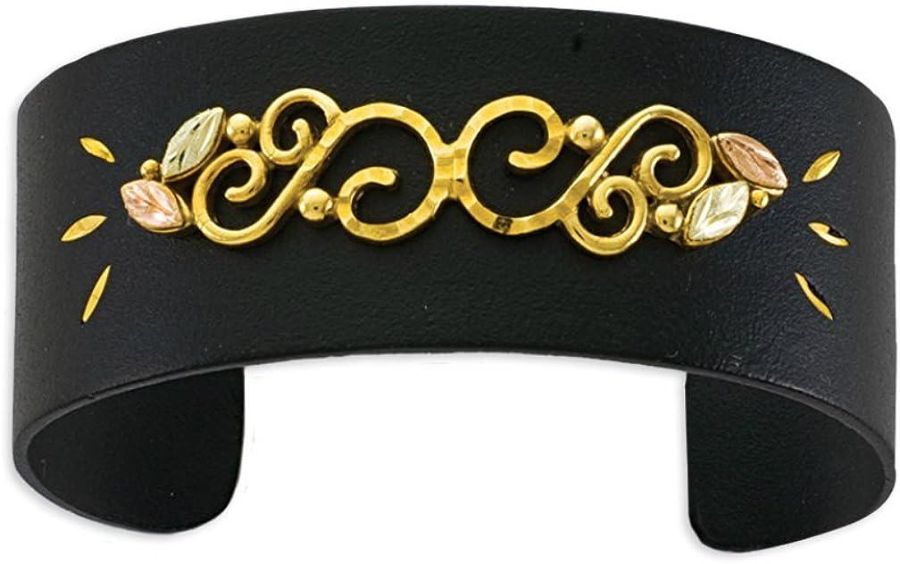 Black Hills Gold Powder Coat Bracelet