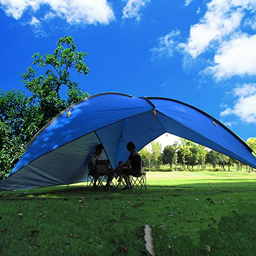 Oxking Outdoor 5 8 Person Beach Canopy Tent Large